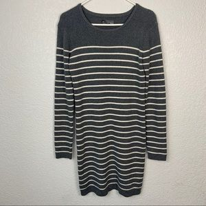 Michael Stars Cashmere Blend Gray Sweater Dress
